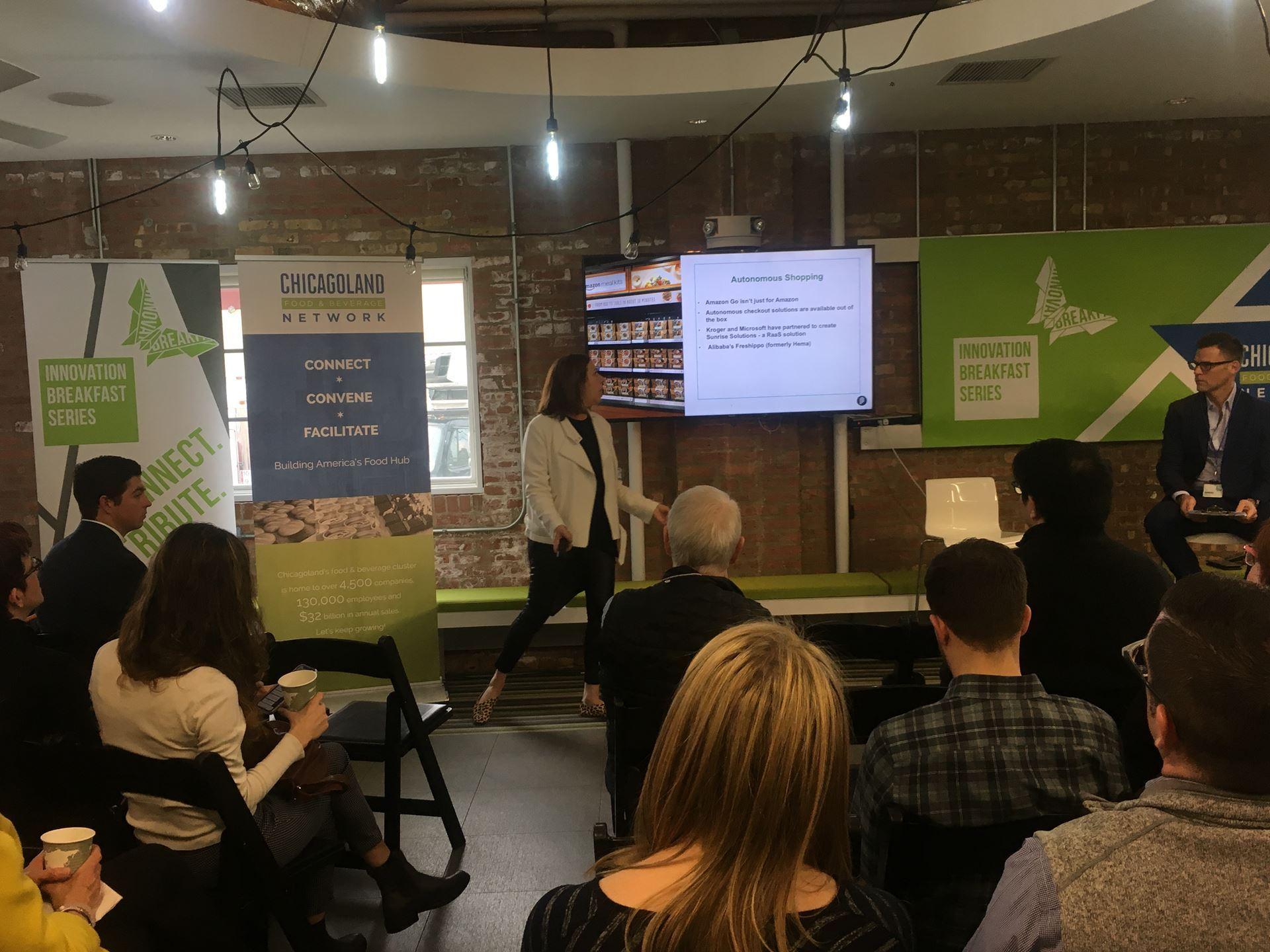 Chicagoland Food & Beverage Network - April Innovation Breakfast Recap